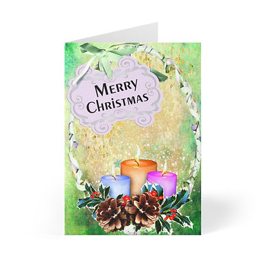 Christmas 20181126 Greeting Cards (8 pcs)