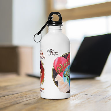 Trixi's Stainless Steel Water Bottle (LOGO)