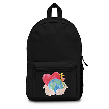 Black Backpack (Made in USA) #215