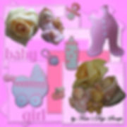 TDS0002 ~ Baby Girl Kit