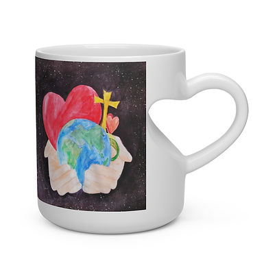 Heart Shape Mug #215