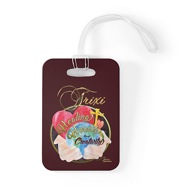 PERSONALISED Bag Tag(choose your image &/ add your NAME)