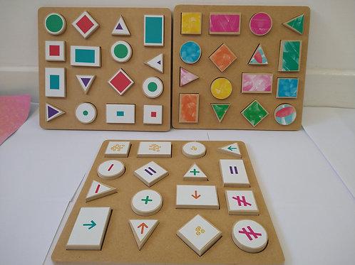 Bloques matemticos de encaje y construccion