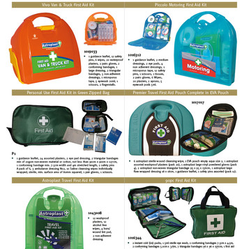 First Aid Kits from Wallace Cameron