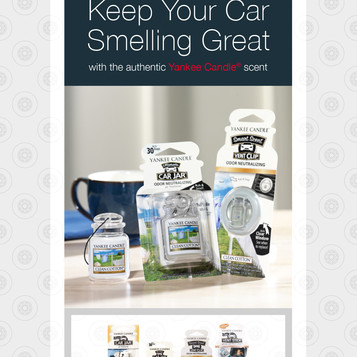 Yankee Candle Air Fresheners, Exclusively through BORN-BRANDS!