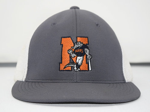 Grey and White Trucker Hat