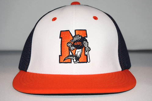 Orange/White Fitted Official Game Hat