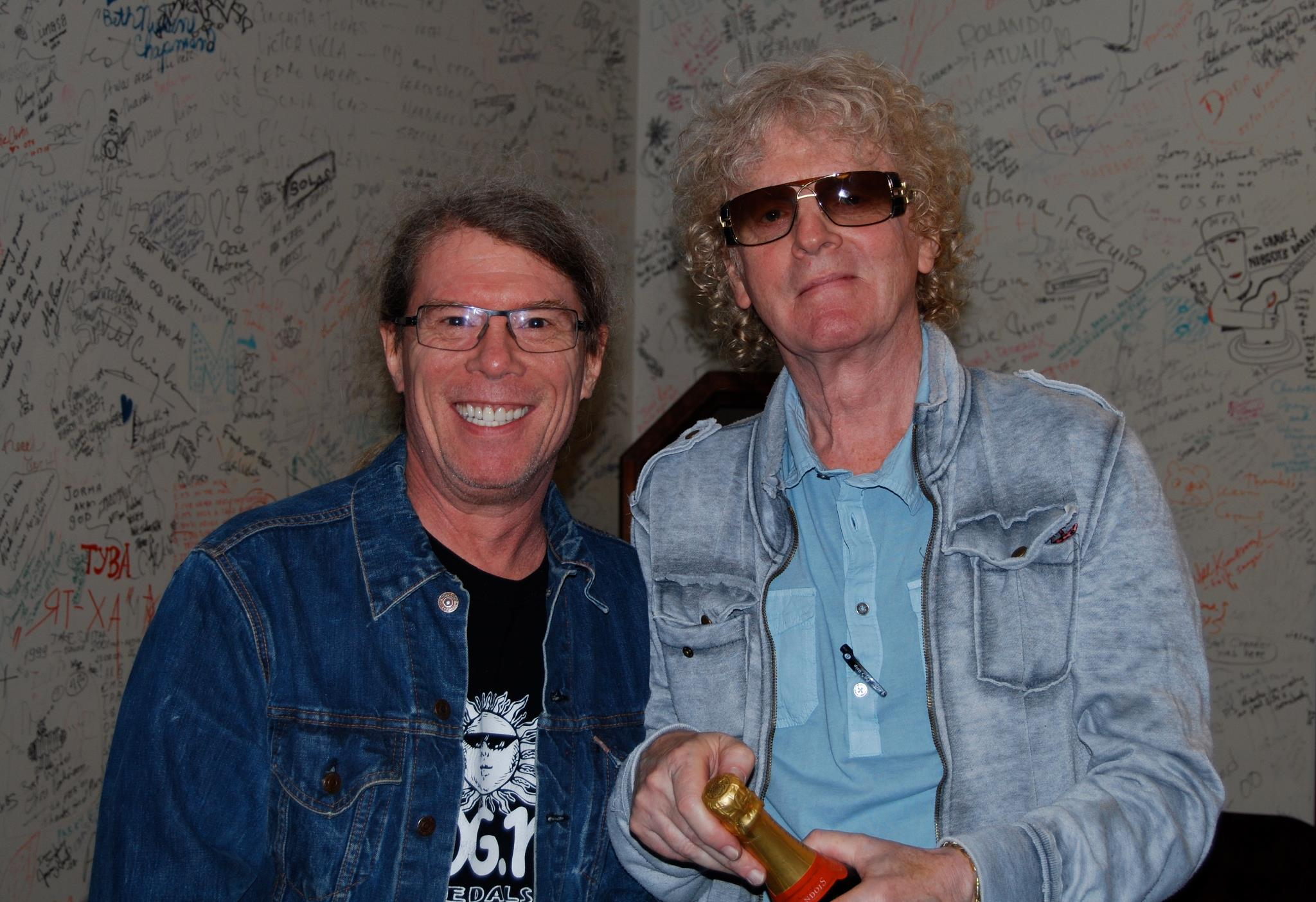 Back Stage with Ian Hunter