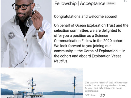 Ocean Exploration Trust Fellowship