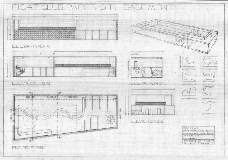 Technical drawing | Production design jpg
