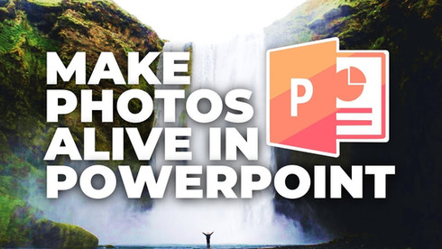Make Your Photos 🔥COME TO LIFE🔥 PowerPoint Tutorial