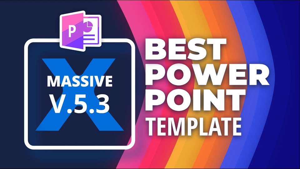 Best PowerPoint Template 🔥 Massive X 5.3 🔥