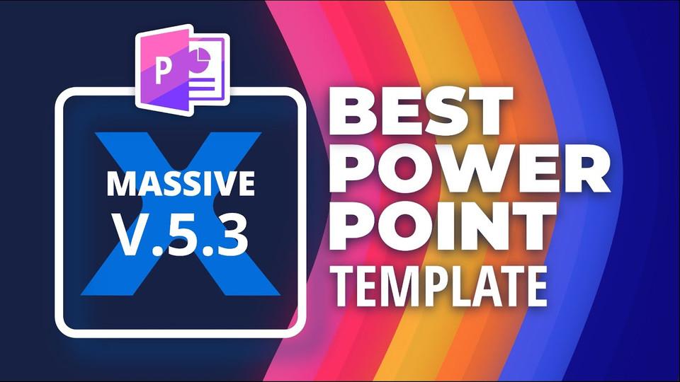 Best PowerPoint Template 🔥 Massive X 5.3 🔥