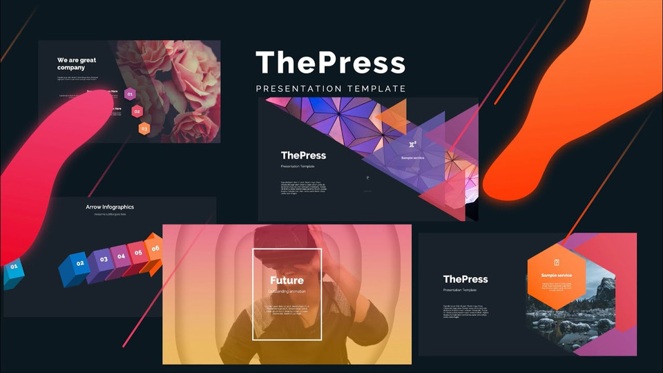 Most Popular PowerPoint Templates 🔥 ThePress 🔥