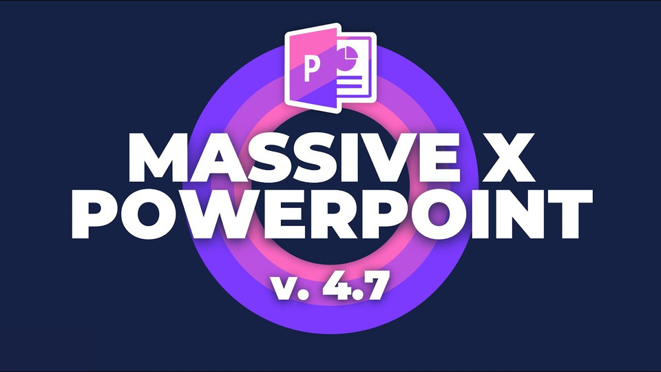 Most Popular PowerPoint Templates 🔥Massive X 🔥