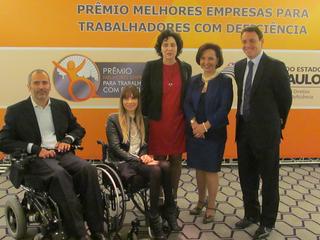 Abertas as inscrições para o II Prêmio Melhores Empresas para Trabalhadores com Deficiência