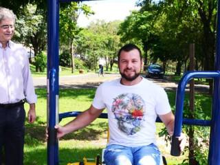 Rio Claro ganha academia adaptada para pessoas com deficiência