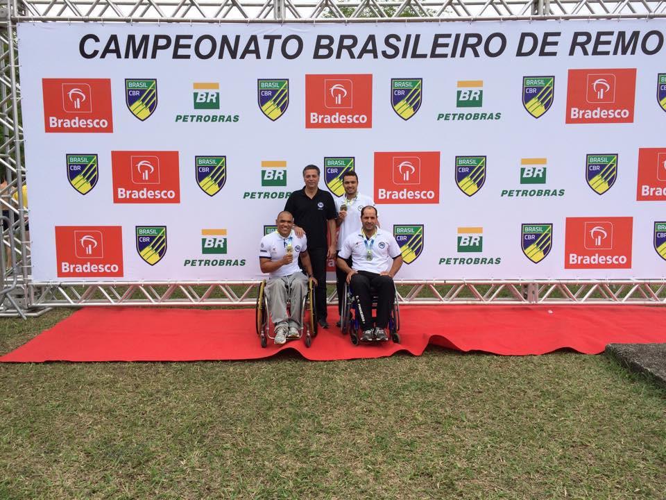 Atletas do Futuro no Campeonato Brasileiro de Remo