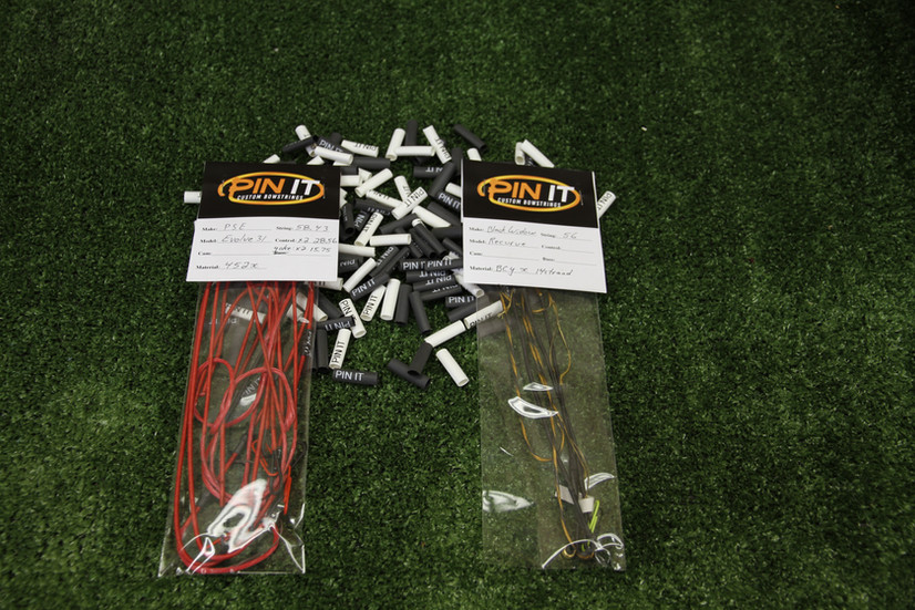 PIN IT Custom Bowstrings read for delivery