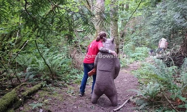 Rinehart 3D Bear Target
