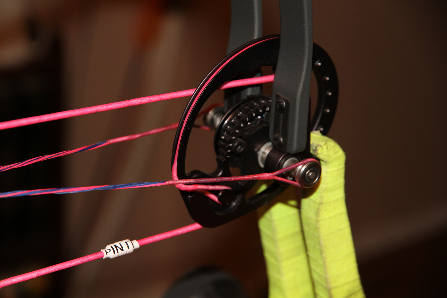 Performance increases with PIN IT Custom Bowstrings