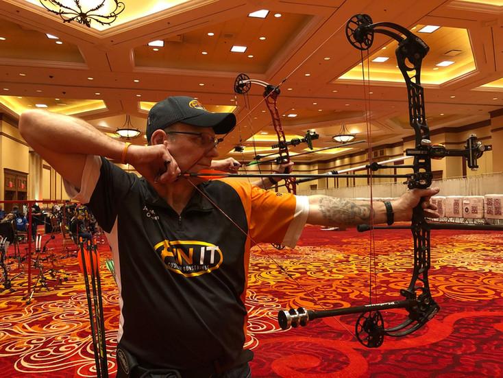 Vegas archery shoot
