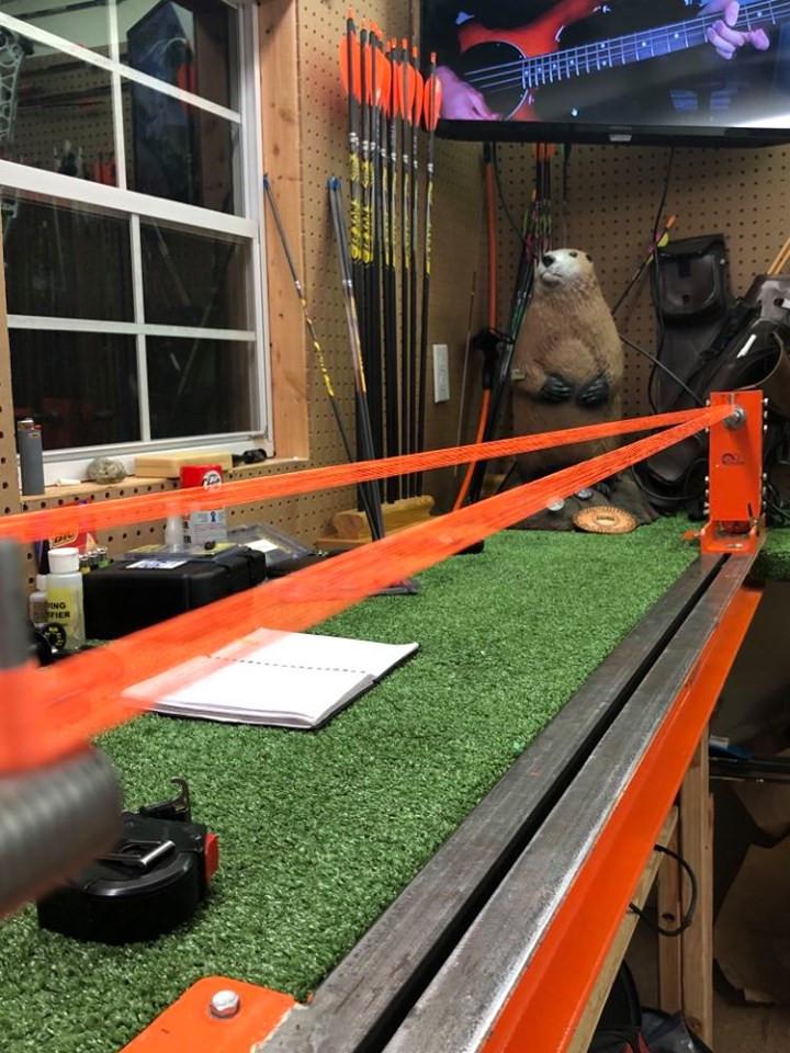 Flo. orange Pin It Custom Bowstrings