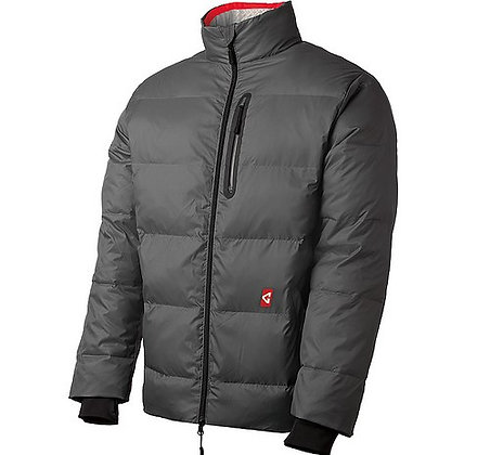 Men's Heated Puffer Jacket, Grey