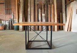 custom bar height dining room table