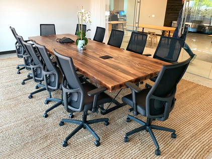 wide and long conference tables