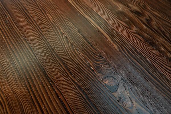 dark wood grain butcher block