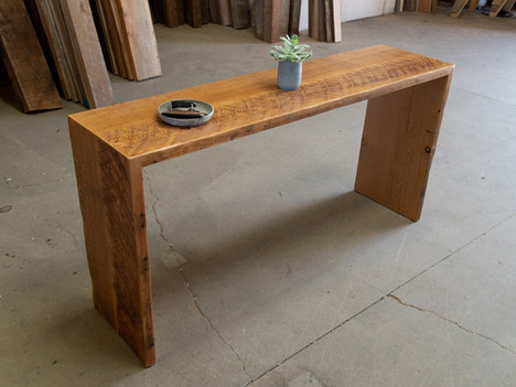 """""""The Elizabeth"""" Reclaimed Waterfall Console - $1000"""