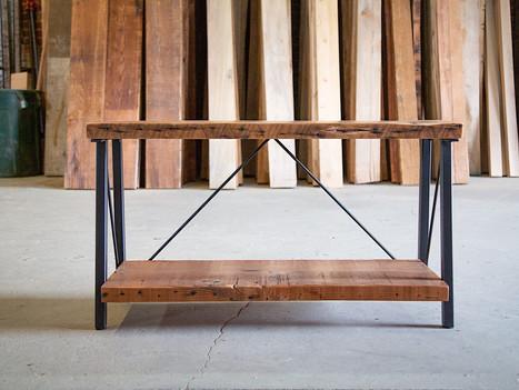 """The Liza"" Wood & Steel Media Center - $800"