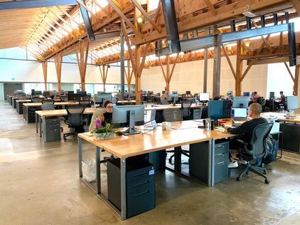 best wood desk fabricators