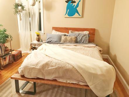 moder custom size bed
