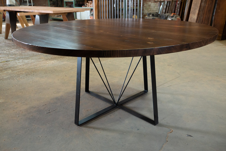 round dining table for 6 custom