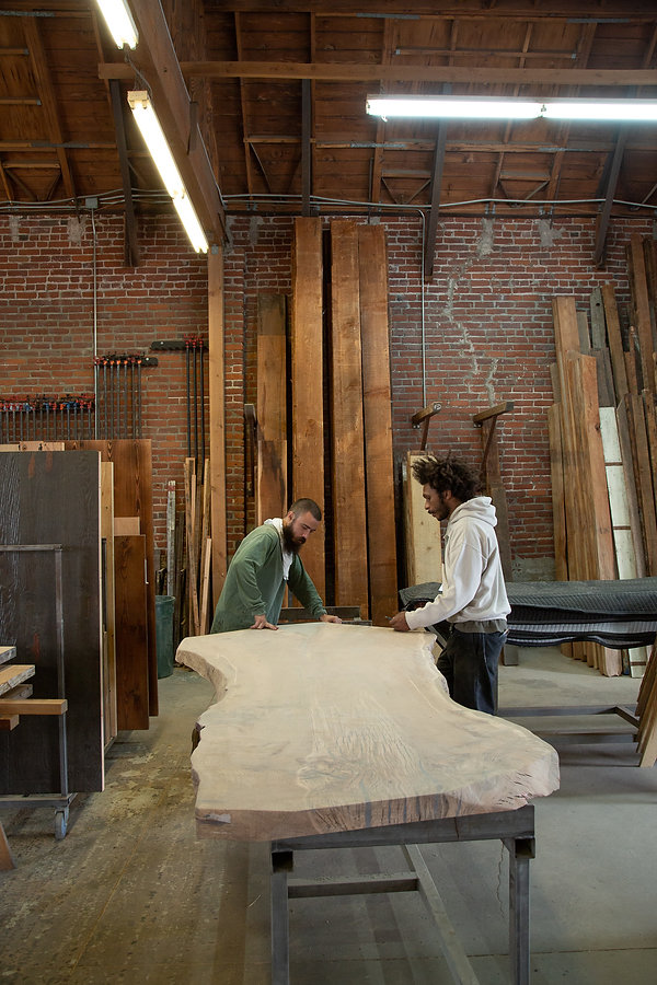 rustic modern furniture maker los angeles
