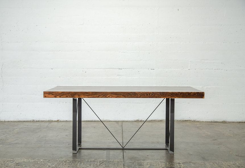 wood dining room tables los angeles