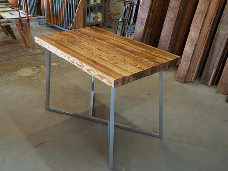 Bar-Height Butcher Block Dining Table - $1650