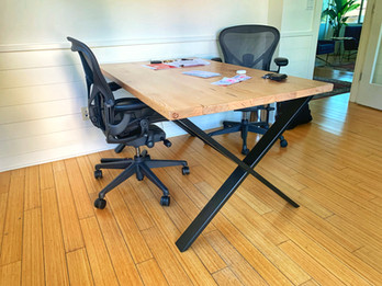 custom office desk made in los angeles