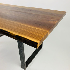 walnut dining table or office desk