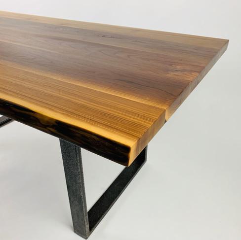 walnut dining table or office desk