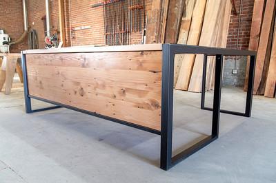 wooden reception desks los angeles