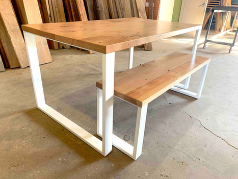 Small Kitchen Table and Bench Set - $1850