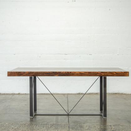 rustic modern wood tabletop