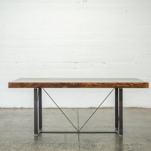 rustic modern wood tabletop
