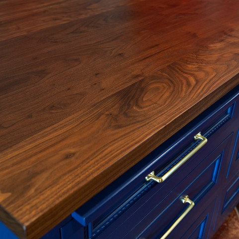 walnut kitchen countertops