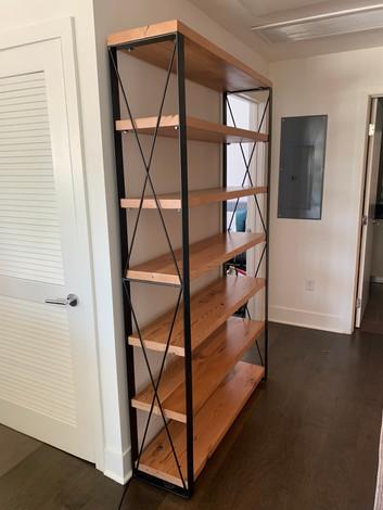 custom size bookcases handmade