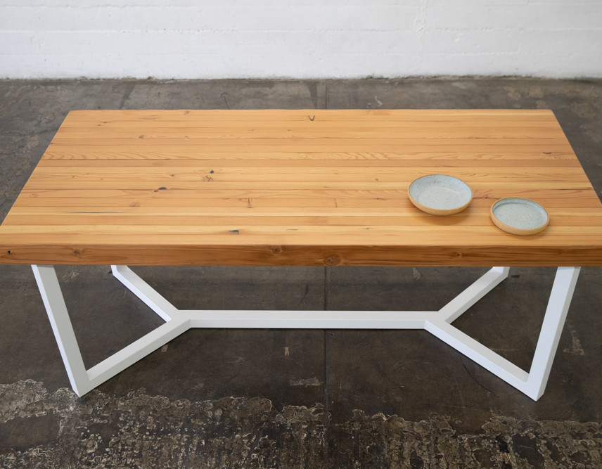 butcher block dining tables los angeles