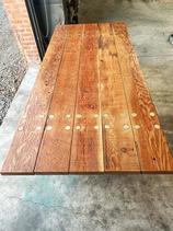 farmhouse outdoor table
